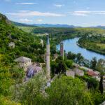 Das Dorf Počitelj in Bosnien und Herzegovina