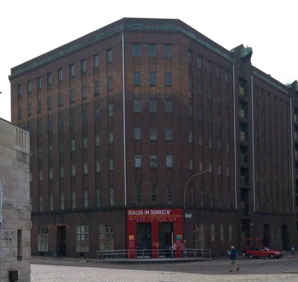 Gebäude des Dialog im Dunkeln