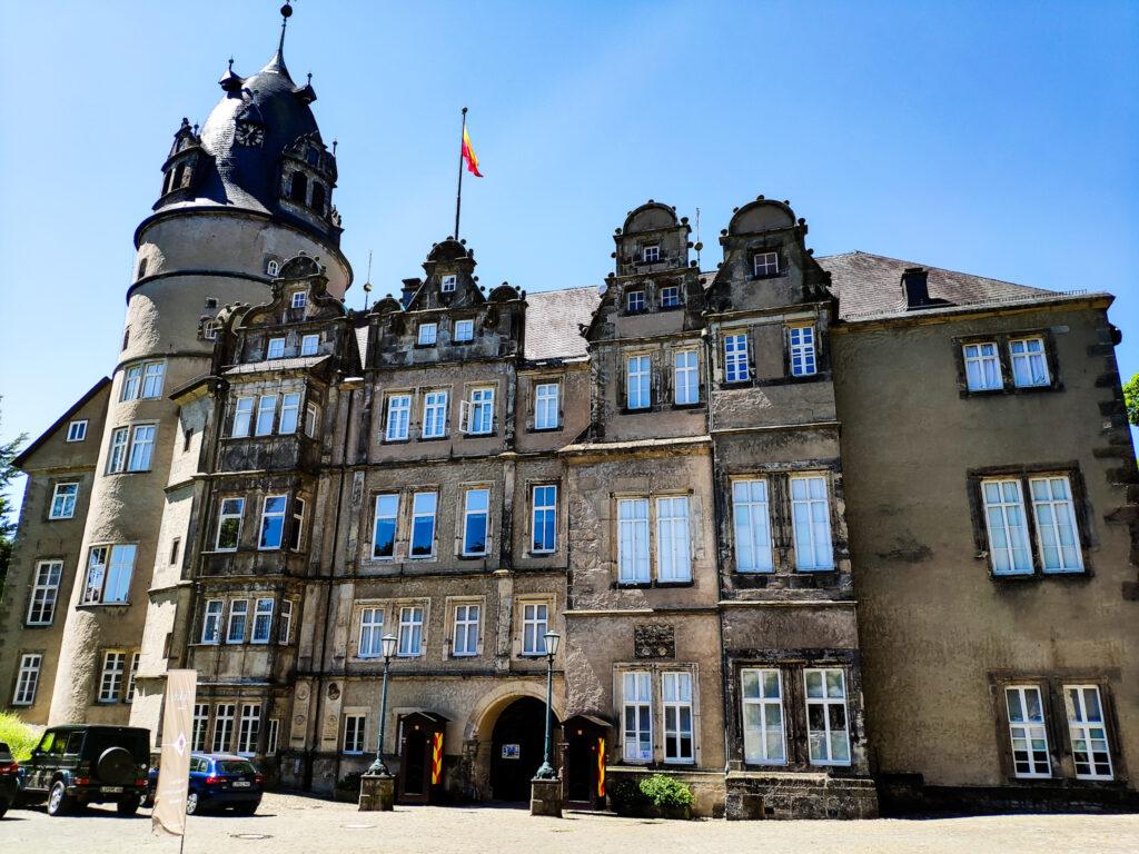Schloss Detmold im Kreis Lippe.