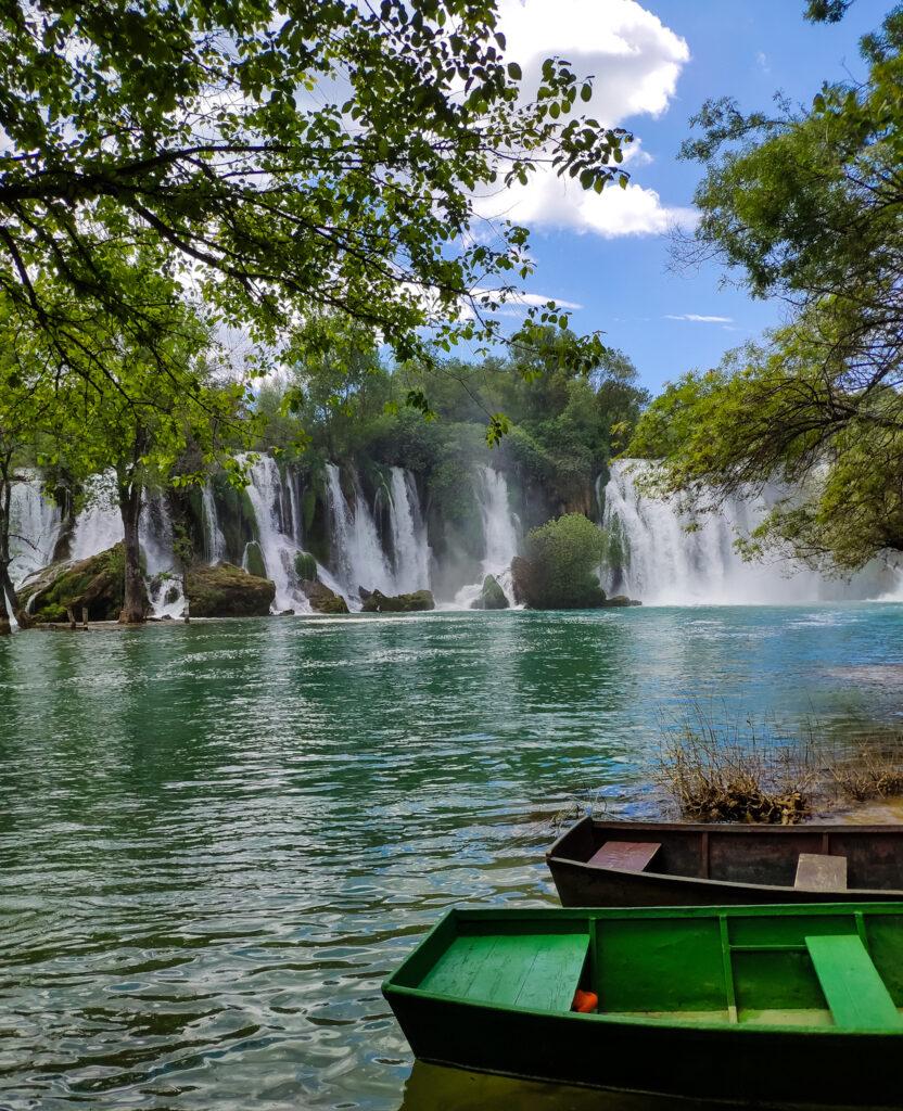 Kravica Wasserfälle in Bosnien und Herzegowina.