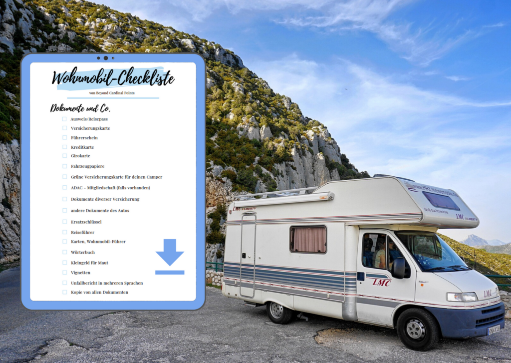 Die Camping Checkliste Fur Wohnmobile Beyond Cardinal Points