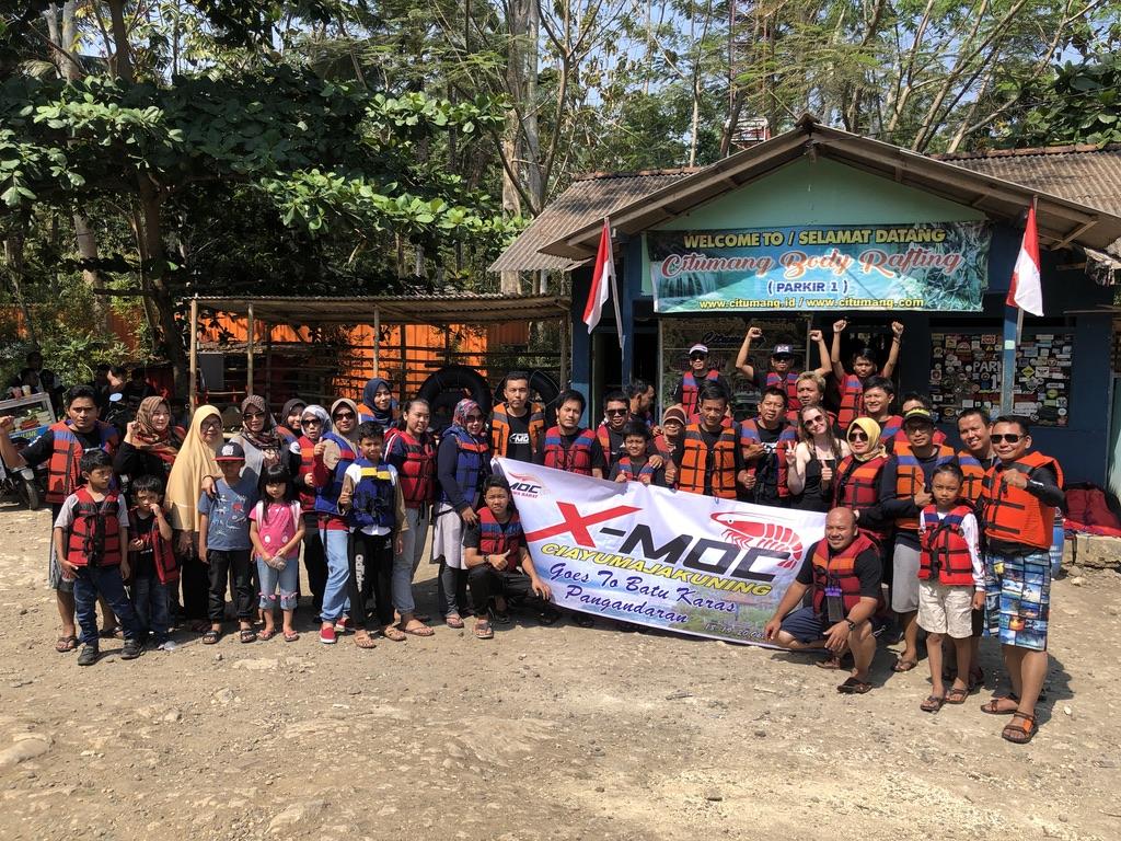 Indonesische Reisegruppe.